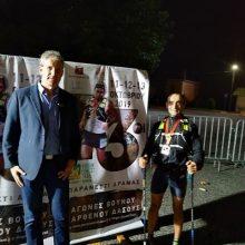 Ο Μωυσής Φωλτόπουλος από την Άρδασσα Εορδαίας κατέκτησε την πρώτη θέση στο αγώνα βουνού Virgin Forest Trail απόστασης 162,7χλμ, που διεξάγεται στο Παρανέστι Δράμας