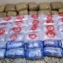 Σύλληψη δύο αλλοδαπών για κατοχή και μεταφορά 55 κιλών και 400 γραμμαρίων ακατέργαστης κάνναβης, σε περιοχή της Καστοριάς