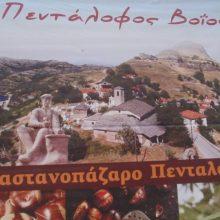 14ο Καστανοπάζαρο Πενταλόφου Βοΐου, την Κυριακή  3 Νοεμβρίου