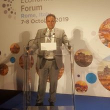 Στο 3ο Οικονομικό Φόρουμ των Ευρωεπιμελητηρίων ο Νίκος Σαρρής