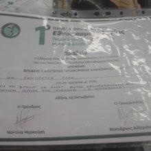 """Βραβείο για την Αντιπρόεδρο του Φαρμακευτικού Συλλόγου Κοζάνης Έλλη Λαμπρέτσα στο Πανελλήνιο Συνέδριο Εθνοφαρμακολογίας για την εργασία της """"Τσάγια του βουνού κι άλλα"""""""