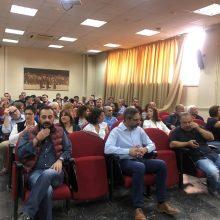 "kozan.gr: ""Πρέπει να αλλάξουμε, αλλά δεν πρέπει να εγκαταλείψουμε. Επανεκκίνηση"" το μήνυμα,  από την 9η ανοιχτή γενική συνέλευση της Δημοτικής Κίνησης  «Κοζάνη,  Τόπος να ζεις»,  που πραγματοποιήθηκε το πρωί της Κυριακής 20/10, στο Εργατικό Κέντρο Κοζάνης (Bίντεο & Φωτογραφίες)"