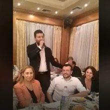 kozan.gr: Πτολεμαΐδα: Tα ποντιακά από τον Παναγιώτη Θεοδωρίδη στο τραπέζι του Ν. Παππά & της Μαριλίζας Ξενογιαννακοπούλου – Το βίντεο που δημοσίευσε ο Νίκος Παππάς στο instagram με το ποντιακό στιχάκι «O Μητσοτάκης θεωρεί πως είναι αρχηγός σας κι ο Τσίπρας σαν κι αυτόν θέλει άλλους 500…» (Βίντεο)