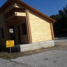 kozan.gr: Έτοιμος ο «Οικίσκος του Επιστάτη» στην είσοδο του δάσους Κουρί στην Κοζάνη – Ξεκίνησε κι η συναρμολόγηση του Kέντρου Περιβαλλοντολογικής Ενημέρωσης (Φωτογραφίες)