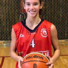 Οι αθλήτριες του ΑΠΟΛΛΩΝΑ ΠΤΟΛΕΜΑΪΔΑΣ, Αντριάνα  Σαρβάνη(2005) & Βασιλική   Χωλοπούλου(2007) στο ΕΟΚ-FIBA τουρνουά 3χ3 κοριτσιών U14