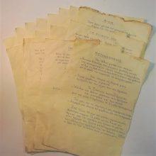 16 ποιήματα, γραμμένα κατά την περίοδο του μεσοπολέμου και κατά τη διάρκεια της Κατοχής, βρέθηκαν στο εργοστάσιο της ΕΔΑΔΥΜ, της Εταιρείας Διαχείρισης Απορριμμάτων Δυτικής Μακεδονίας(Γράφει ο  Γιάννης Τσιομπάνος)