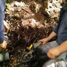 Επισκευή του παλιού δικτύου  ύδρευσης της Σιάτιστας στο Μπούρινο (Φωτογραφίες)
