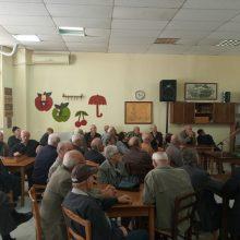 Ομιλία στο χώρο του ΚΑΠΗ από την αστυνομία Πτολεμαΐδας (Φωτογραφίες)