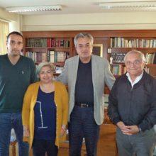 Τον Αντιπεριφερειάρχη της Π.Ε. Κοζάνης επισκέφτηκε ο σύλλογος Βοϊακή Εστία Θεσσαλονίκης για θέματα πολιτισμού και ανάπτυξης του Βοίου