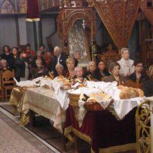 kozan.gr: Με τη συμμετοχή πολλών πιστών πραγματοποιήθηκε, το απόγευμα της Παρασκευής 25/10, ο πανηγυρικός εσπερινός στον Ιερό Ναό  Αγίου Δημητρίου Κοζάνης (Φωτογραφίες & Βίντεο)