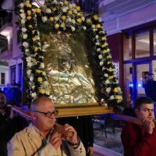 Σιάτιστα: Η περιφορά της Ιεράς Εικόνας του Αγίου Δημητρίου (Φωτογραφίες & Βίντεο)