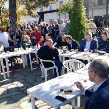 kozan.gr: Πολύς κόσμος, στη σημερινή (Κυριακή 27/10), καθιερωμένη Καστανογιορτή στη Δαμασκηνιά Βοΐου, που διεξήχθη για 20η χρονιά (Βίντεο & Φωτογραφίες)