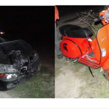 "kozan.gr: Ι.Χ. αυτοκίνητο συγκρούσθηκε με μηχανάκι (τύπου Vespa) στο δρόμο Κοζάνης – Λευκόβρυσης (από την πλευρά της Καρυδίτσας, μέσω ""Ενωτικής"", κοντά στο Θερμοκήπιο Τσαμπούρης)"