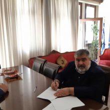 Υπογραφή Σύμβασης για το έργο με τίτλο : «Βελτίωση-Ανακατασκευή παιδικών χαρών Δήμου Εορδαίας»