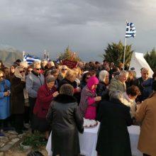 Σιάτιστα: H επιμνημόσυνη δέηση κι η κατάθεση στεφάνων στο Καστράκι, στο πλαίσιο των εκδηλώσεων για την 107η επέτειο απελευθέρωσης της πόλης από τον Τουρκικό ζυγό (Βίντεο & Φωτογραφίες)