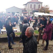 Δωρεάν κάστανα, καλό κρασί και πολύς κόσμος στο 14ο καστανοπάζαρο Πενταλόφου (Bίντεο & Φωτογραφίες)
