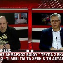 "kozan.gr: Δήλωση του Δημάρχου Βοΐου Χ. Ζευκλή, που θα συζητηθεί: ""Ο Δήμος Βοΐου έχει μια μεγάλη ""τρύπα""  – στον ισολογισμό του – της τάξεως των 2 εκ. ευρώ"" – Τι θα γίνει με την ΔΥΠΡΑ (Βίντεο)"