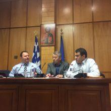 """Γ. Βαβλιάρας (Aντιπεριφερειάρχης Επιχειρηματικής Ανάπτυξης Περιφέρεια Δυτικής Μακεδονίας): """"Σημαντική συνάντηση, στην αίθουσα συνεδριάσεων του Περ. Συμβουλίου, με τον Γενικό Γραμματέα Εμπορίου και Προστασίας Καταναλωτή Παναγιώτη Σταμπουλίδη"""" (Φωτογραφίες)"""