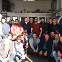 Εκπαιδευτική επίσκεψη πραγματοποίησαν οι μαθητές της Β' Τάξης της ειδικότητας Τεχνιτών Μηχανών & Συστημάτων Αυτοκινήτου της ΕΠΑ.Σ ΟΑΕΔ ΚΟΖΑΝΗΣ στο ρεκτιφιέ του Χ. Σοφιανίδη