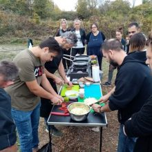 Οι Chef του ΔΙΕΚ Κοζάνης στο βιολογικό αγρόκτημα BioYgeia στην Άνω Κώμη Κοζάνης (Φωτογραφίες)