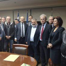 Εκπρόσωποι του Δήμου Εορδαίας συναντήθηκαν, σήμερα Τρίτη 12/11, με τον Υπουργό Ενέργειας και Περιβάλλοντος Κωστή Χατζηδάκη – Eντός του επόμενου μήνα θα επισκεφθεί την περιοχή μας