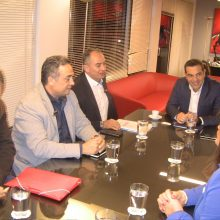 Αλέξης Τσίπρας: Κριτική στην Κυβέρνηση στη συνάντηση με το προεδρείο της ΓΕΝΟΠ-ΔΕΗ