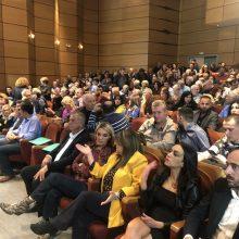 kozan.gr: Ώρα 20:17: Κοζάνη: Kατάμεστη από κόσμο η Στέγη Ποντιακού Πολιτισμού για την ομιλία του Αλέξη Τσίπρα και την εκδήλωση του ΣΥΡΙΖΑ Κοζάνης, λίγα λεπτά πριν ξεκινήσει η εκδήλωση (Φωτογραφίες  & Βίντεο)