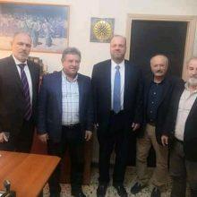 Συνάντηση του  Προεδρείου του Εργατικού Κέντρου Ν. Κοζάνης με τον Διοικητή  του ΟΑΕΔ  Σπύρο Πρωτοψάλτη
