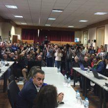 Η παρουσία του Αλέξη Τσίπρα στη συνεδρίαση του δημοτικού συμβουλίου Σερβίων – O χαιρετισμός του Δημάρχου (Δελτίο τύπου)