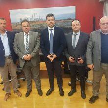 Συνάντηση της διοίκησης του Επιμελητηρίου Κοζάνης με τον πρόεδρο της ΔΕΗ (Φωτογραφία)
