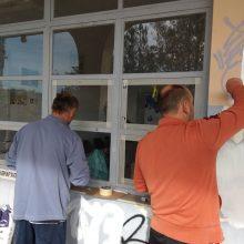 "kozan.gr: Koζάνη: Συνεχίζονται οι εργασίες διαμόρφωσης, στους παραχωρημένους χώρους του ΟΣΕ, όπου θα εγκατασταθούν γραφεία του δραστήριου συλλόγου Eθελοντών Αιμοδοτών Αιμοπεταλιοδοτών ""Σταγόνα Ελπίδας"" (Σημερινές φωτογραφίες)"