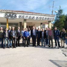 Επίσκεψη του Διοικητή  του ΟΑΕΔ Σ. Πρωτοψάλτη στην ΕΠΑ.Σ ΜΑΘΗΤΕΙΑΣ ΚΟΖΑΝΗΣ (Φωτογραφίες)
