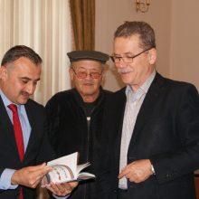Επίσκεψη του Τούρκου Δημάρχου Ντεβελί στο Δήμαρχο Κοζάνης (Φωτογραφίες)