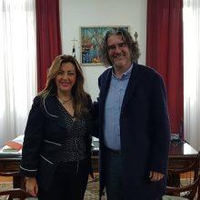 kozan.gr: Συνάντηση με τη Μαρία Αντωνίου, επικεφαλής του γραφείου του Πρωθυπουργού στη Θεσσαλονίκη, είχε το πρωί της Παρασκευής 22/11, ο Δήμαρχος Σερβίων Χρήστος Ελευθερίου (Φωτογραφίες)