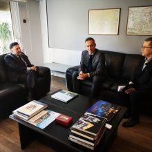 Συναντήσεις Στάθης Κωνσταντινίδη  Λάζαρου Μαλούτα στο Υπουργείο Περιβάλλοντος & Ενέργειας  για θέματα του Δήμου Κοζάνης