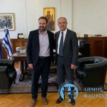 Συνάντηση του Δημάρχου Φλώρινας με τον Υφυπουργό Μακεδονίας – Θράκης