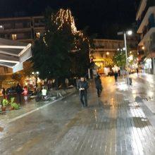 kozan.gr: Απορία αναγνώστη: Γιατί τα φωτάκια των δέντρων σε πολλά σημεία στην Κοζάνη είναι μισό καμμένα ή ολοκληρωτικά καμμένα (Φωτογραφίες)