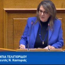 Ολυμπία Τελιγιορίδου: Ανέμελη και αποτυχημένη κυβέρνηση της ΝΔ στη διαχείριση της υγειονομικής, οικονομικής και εθνικής κρίσης (Βίντεο)