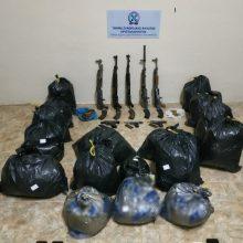 Συνελήφθησαν,  από αστυνομικούς της Διεύθυνσης Αστυνομίας Φλώρινας, δύο μέλη εγκληματικής οργάνωσης,  για διακίνηση μεγάλης ποσότητας  ακατέργαστης κάνναβης και όπλων (Φωτογραφίες)