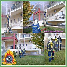 Άσκηση Πυροσβεστικού Σώματος στα Σέρβια  (Βίντεο)