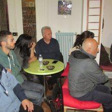 kozan.gr: Aνοιχτή συζήτηση: «O πολιτισμός της συλλογικής δράσης- το σήμερα και το αύριο», με καλεσμένο τον Αντώνη Γαζάκη, διοργάνωσε, το βράδυ της Παρασκευής 29 Νοεμβρίου, η ΑΡΣΙΣ Κοζάνης (Βίντεο & Φωτογραφίες)