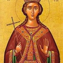 Πανηγυρίζει το Ιερό Εξωκκλήσιο της Αγίας Βαρβάρας Σερβίων, την Τετάρτη 4 Δεκεμβρίου