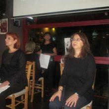 kozan.gr: Εκδήλωση για την Ημέρα Εξάλειψης της βίας κατά των γυναικών διοργάνωσε, το βράδυ  της Τρίτης 3/12, η ΔημοτικήΚίνηση «Κοζάνη Τόπος να ζεις» (Φωτογραφίες & Βίντεο)