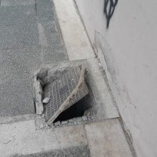 kozan.gr: Πτολεμαΐδα: Η κατάσταση φρεατίου επί της οδού Διοικητηρίου (Φωτογραφία)