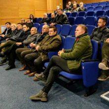 Πραγματοποιήθηκε, την Τρίτη 3/12, η πρώτη συνάντηση με εκπροσώπους των Τοπικών Οργανισμών Εγγείων Βελτιώσεων (ΤΟΕΒ)