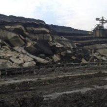 Μικρής έκτασης κατολίσθηση στο ορυχείο Μαυροπηγής