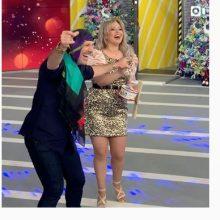 """kozan.gr: Η Λίτσα Παλαμά από την Κοζάνη στην Αθήνα …και στην εκπομπή του Νίκου Μουτσινά """"Καλο Μεσημεράκι"""" στον """"ΣΚΑΙ""""(Βίντεο)"""