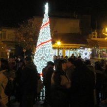kozan.gr: Φωταγωγήθηκε, το απόγευμα της Παρασκευής 6/12, το Χριστουγεννιάτικο Δέντρο στον Κρόκο Κοζάνης – Ακολούθησε βραδιά γευσιγνωσίας και συναυλία με τους Contra Band  (Φωτογραφίες & Βίντεο)