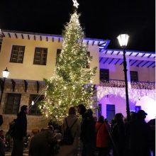 Σιάτιστα: Φωταγωγήθηκε, το βράδυ του Σαββάτου 7 Δεκεμβρίου, το χριστουγεννιάτικο Δέντρο στην έδρα του Δήμου Βοΐου (Bίντεο & Φωτογραφίες)