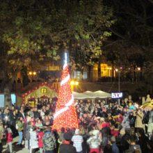 kozan.gr: Aιανή: Με την παρουσία πολύ κόσμου, φωταγωγήθηκε, το βράδυ της Κυριακής 8/12, το Χριστουγεννιάτικο Δέντρο στην ιστορική έδρα του Δήμου Κοζάνης